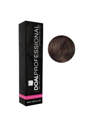 DOAL Doal Profesyonel Kalıcı Saç Boyası 6/0 Koyu Kumral 60 Ml Renksiz